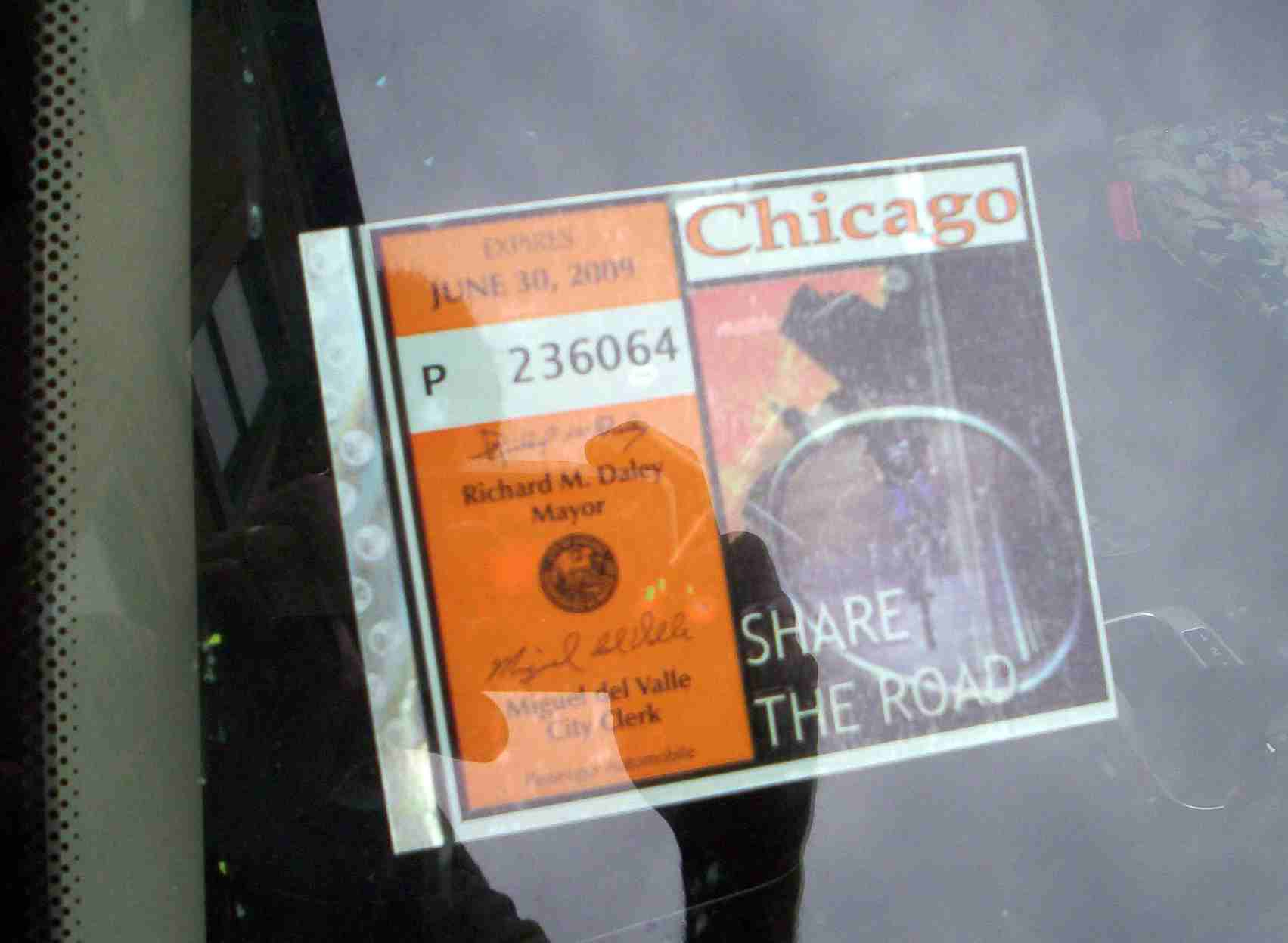 Chicago City Sticker 2008