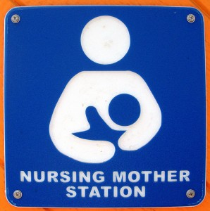 Breast feeding sign