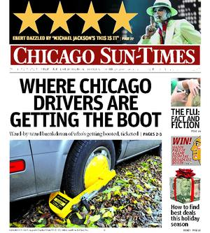Sun-Times Boot Cover