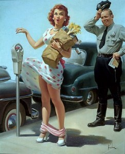 Art Frahm Parking Meter print