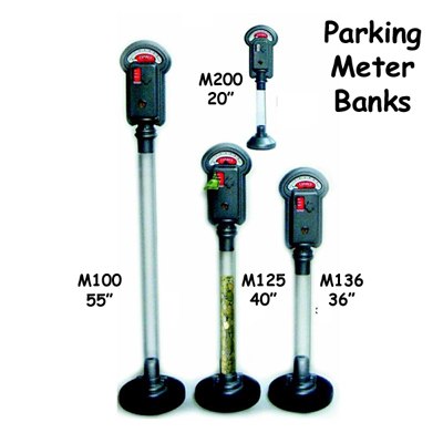 Fantazia parking meter bank