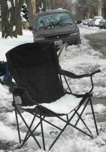 Move your junk or lose it- as Streets and Sanitation crews start removing 'dibs' items off streets on Friday.