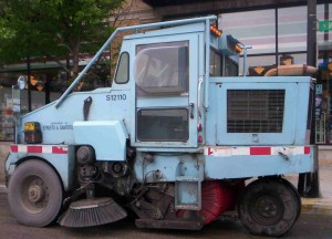 Chicago's street sweepers will hit the street Tuesday, the first day of Chicago's street cleaning season.
