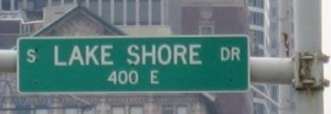 Lake Shore Drive sign crop