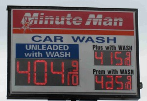 Gas prices in Chicago have risen above $4 per gallon in recent weeks.