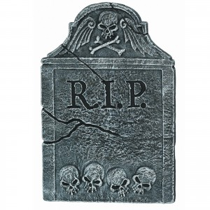RIP Halloween headstone