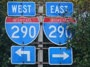 I-290 sign
