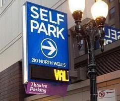 Self Park sign