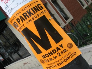 Don't be surprised to see orange street cleaning warning signs this month. The city is extending the street sweeping season a few weeks this year.