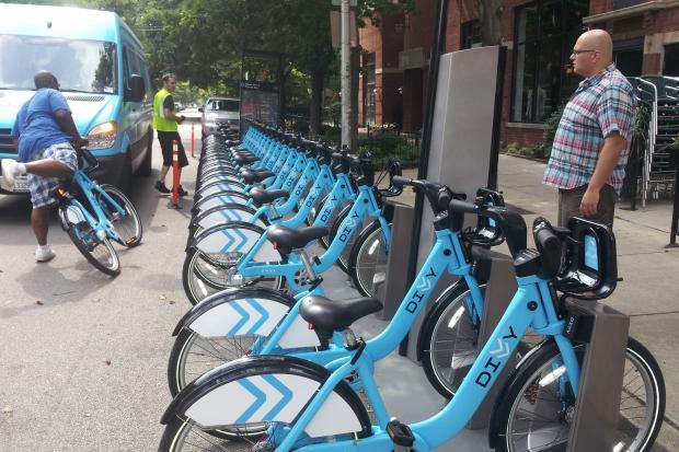 Divvy Bike Stations Eating Up Plenty Of Parking Spaces ...