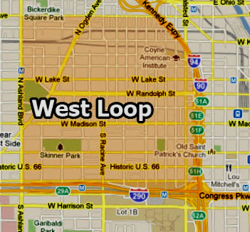 West Loop Map