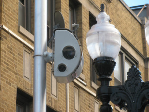 A speed camera in Uptown catches speeding cars in the 4400 block of North Broadway Ave.