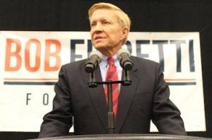 Mayoral candidate Bob Fioretti. (Photo credit: DNA Info).