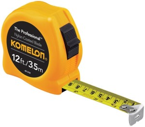 A tape measure is your friend when fighting a parking ticket for parking too far from the curb.