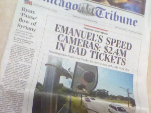 Tribune speed cam cover