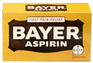 Bayer aspirini